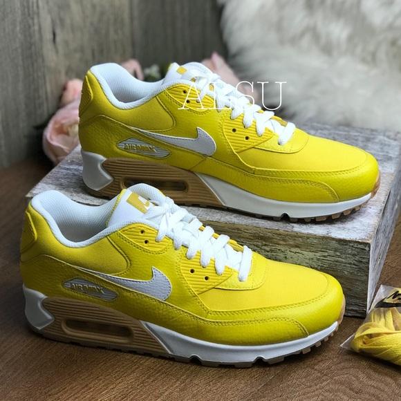 sports shoes ff19d 0cb5a Nike Shoes | Nwt Air Max 90 Prm Tour Yellow W Authentic | Poshmark